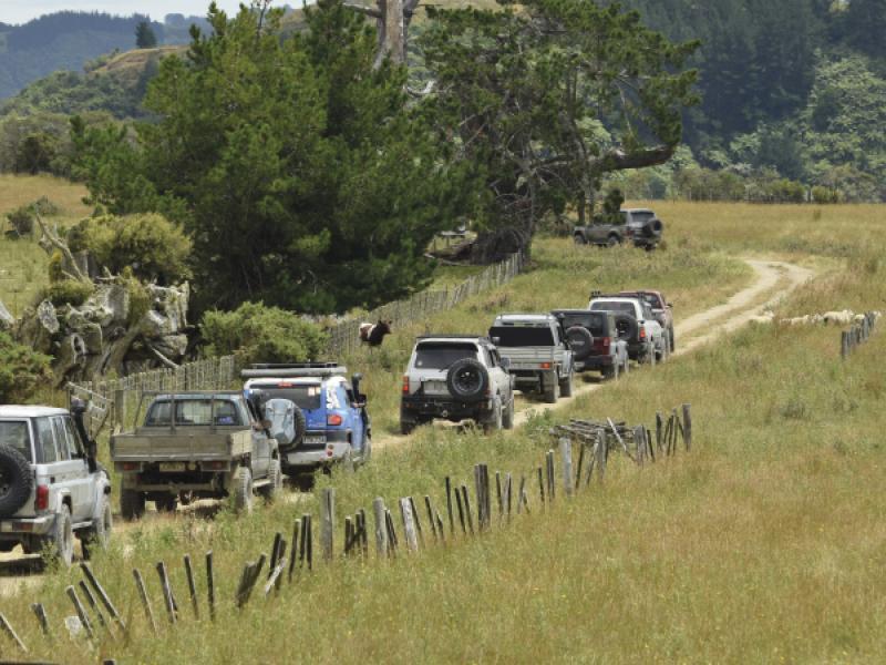 Manawatu 4WD Club Charity Fundraising Safari 2021